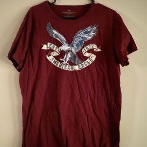American Eagle Graphic Tee LG